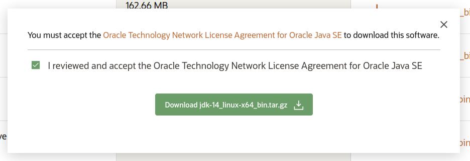 Download Java 14