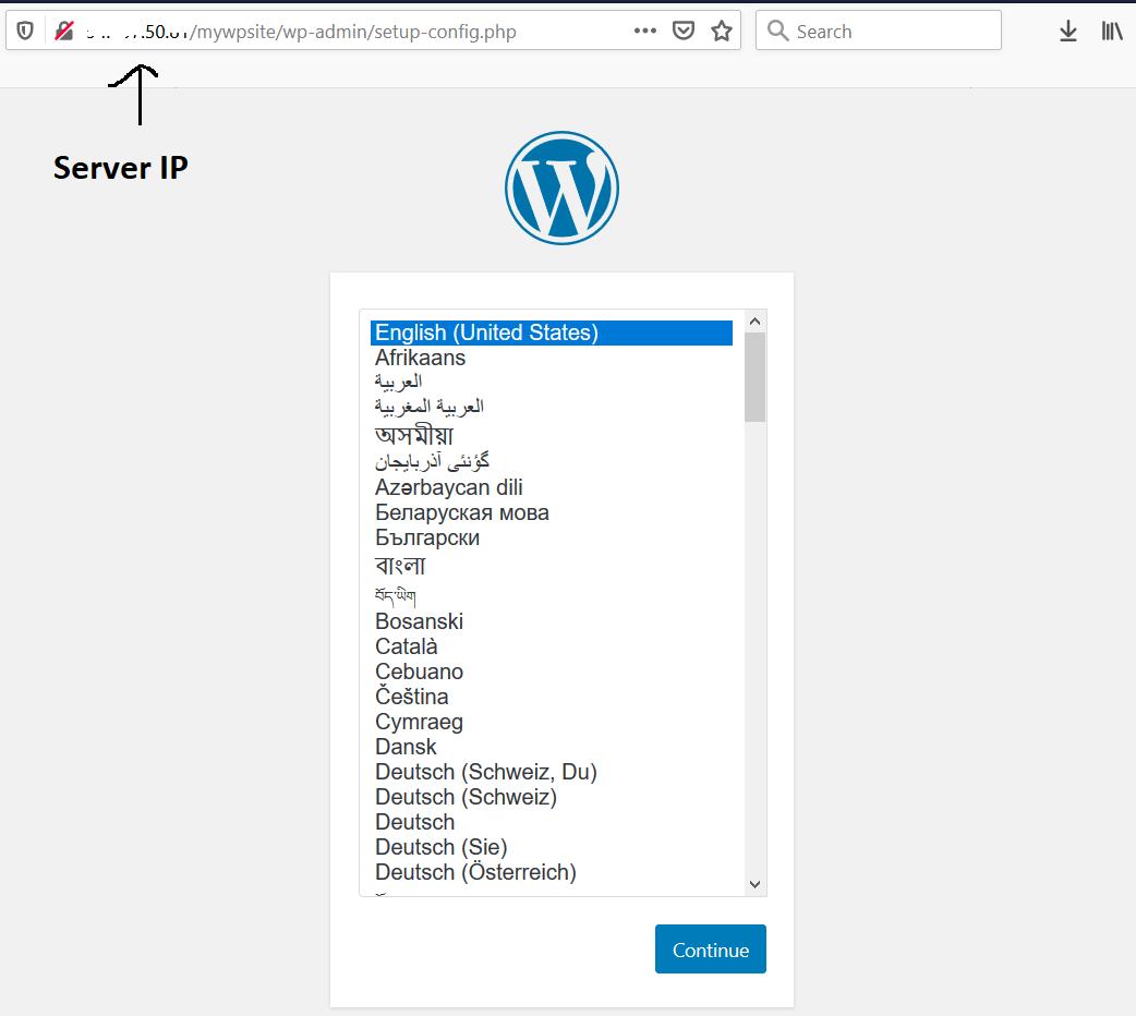 Remote Server Using IP