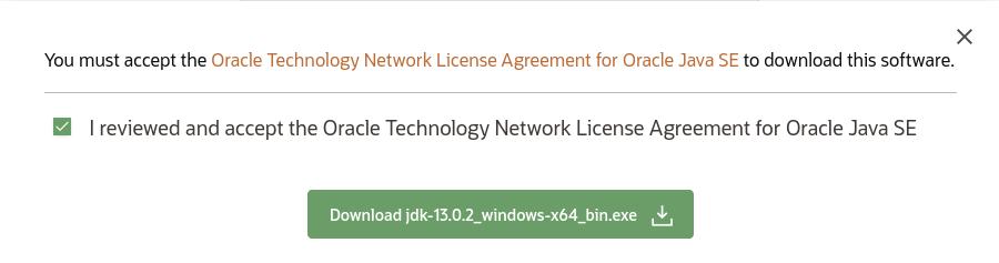 Java 13 - Download