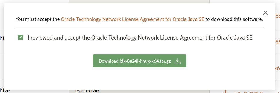 Oracle JDK License Agrement