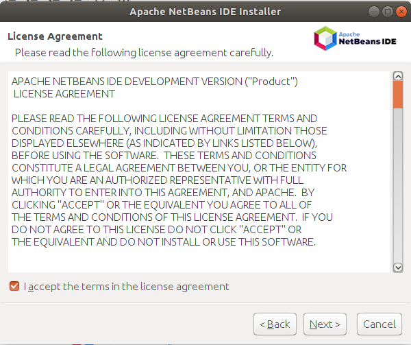 NetBeans - License Agreement