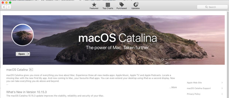 macOS Catalina - Download