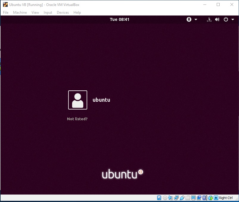 Ubuntu On VirtualBox - Welcome