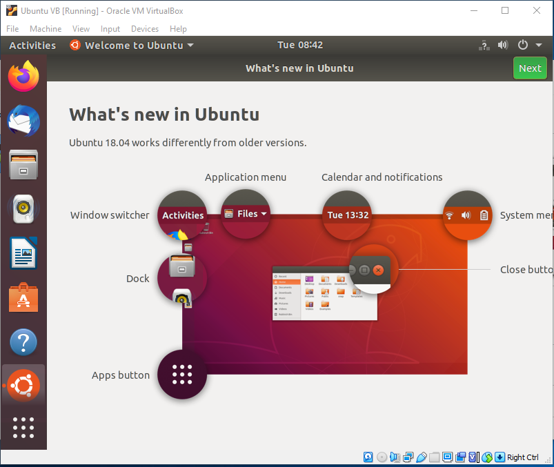 Ubuntu On VirtualBox - Getting Familiar