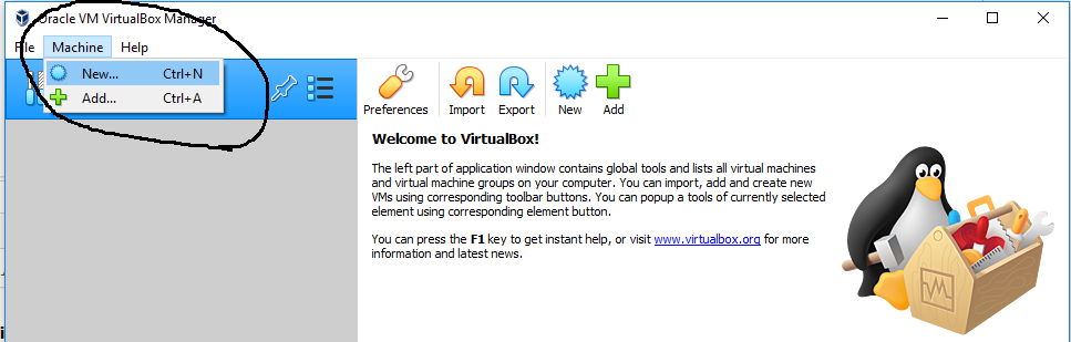 Ubuntu On VirtualBox - New