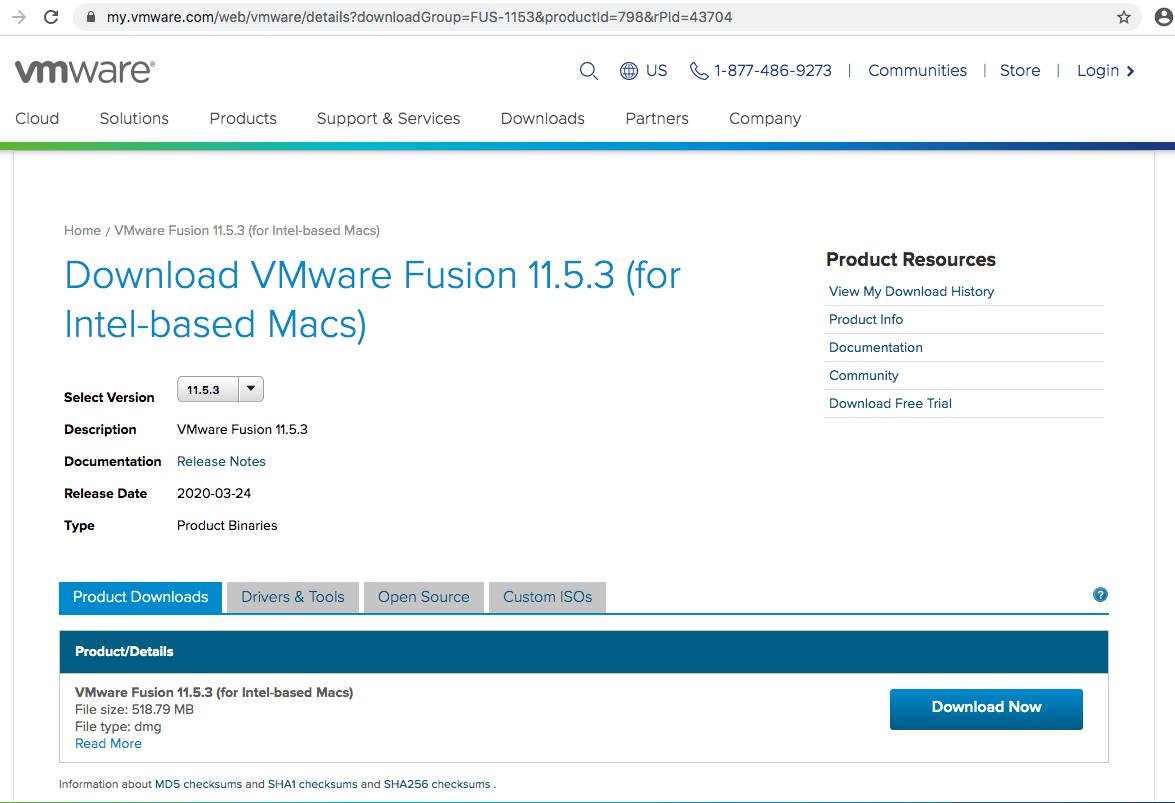 VMware Fusion - Download