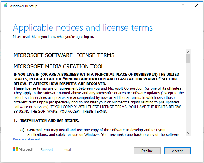Windows 10 - License
