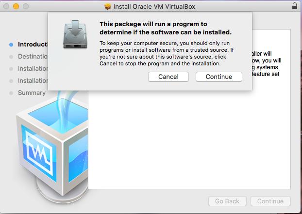 VirtualBox - macOS - System Checks