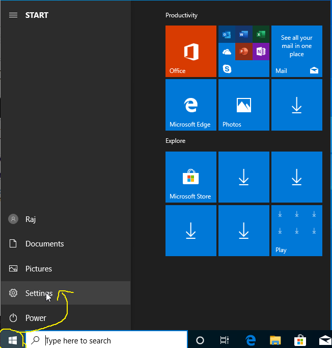 Activate Windows - Open Settings