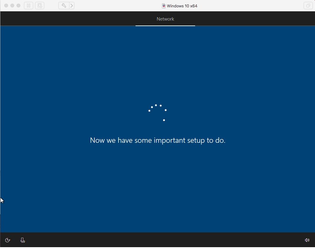 Windows - VMware Fusion - Setup