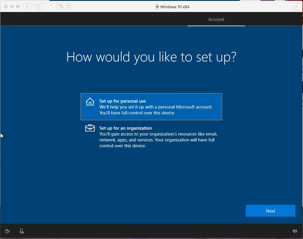Windows - VMware Fusion - Purpose
