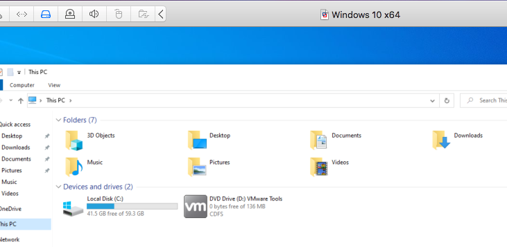 Windows - VMware Tools - DVD
