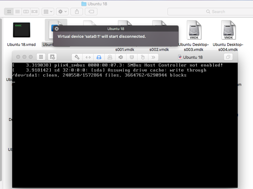 VMware Fusion - Windows Virtual Machine - Virtual Device