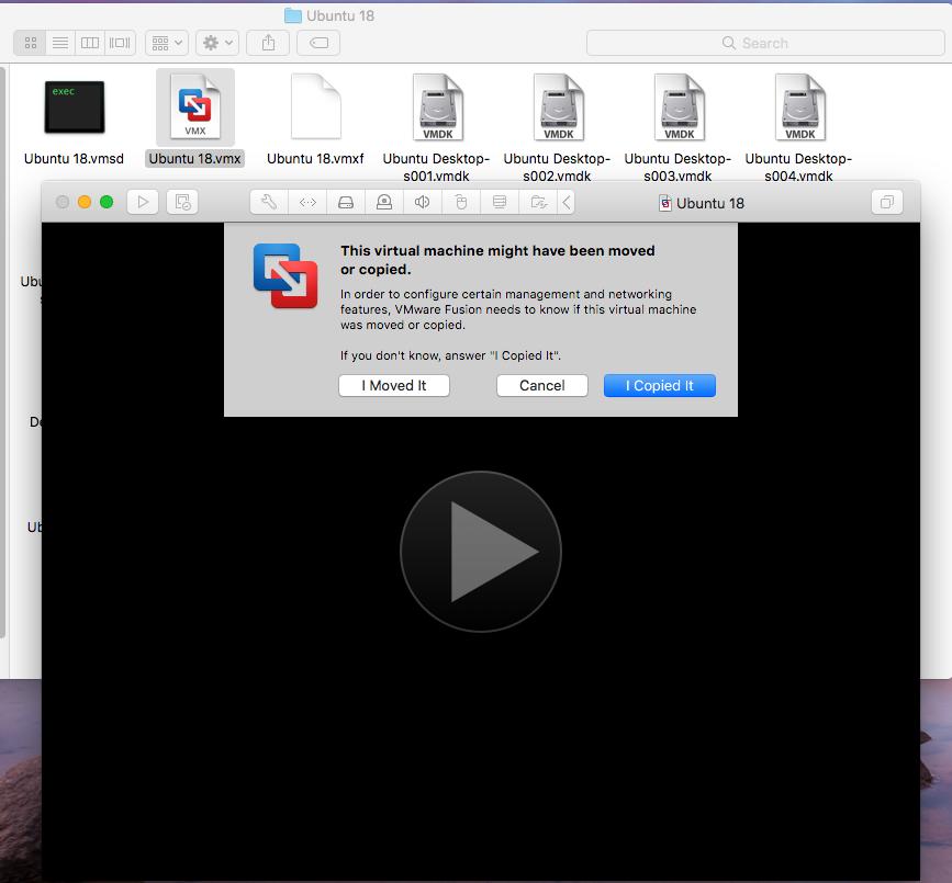 VMware Fusion - Windows Virtual Machine - Open