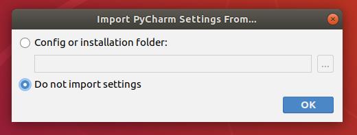 PyCharm Config