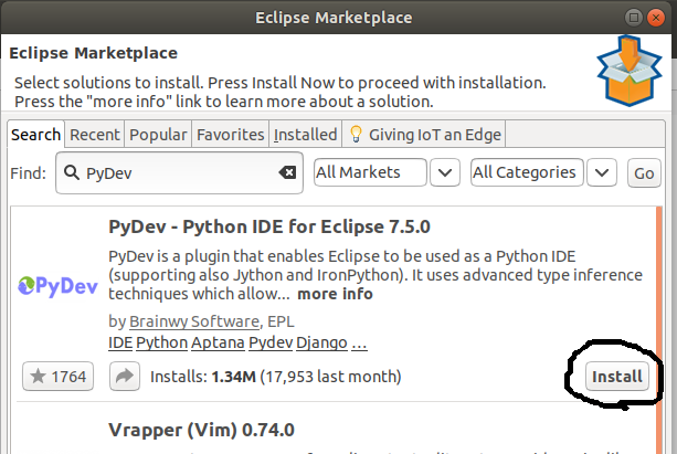 PyDev for Eclipse
