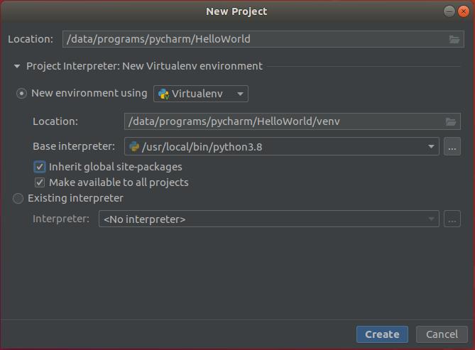 PyCharm - Configure Interpreter