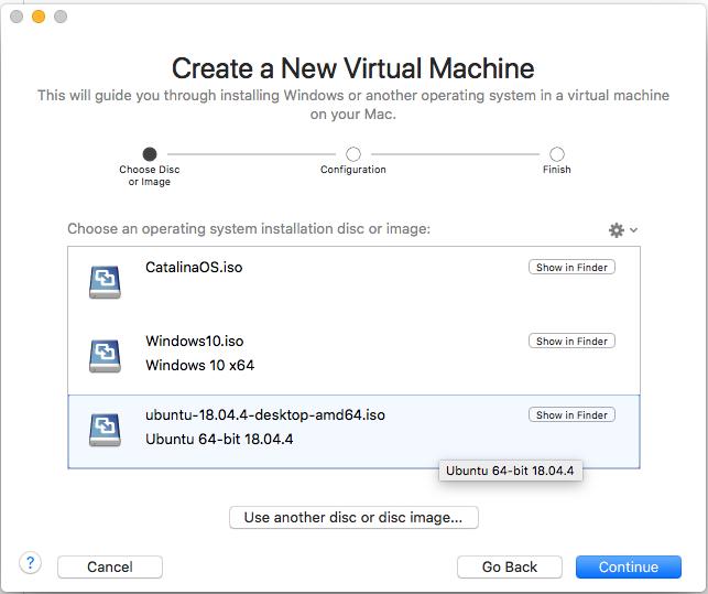 Ubuntu On VMware Fusion - ISO