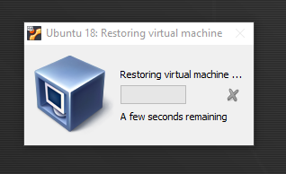 Ubuntu on VirtualBox - Resume