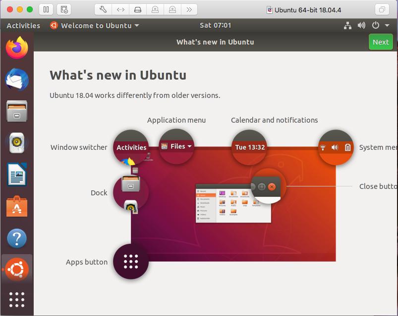 Ubuntu On VMware Fusion - Desktop