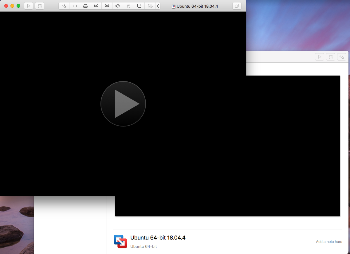 Ubuntu On VMware Fusion - Auto Play