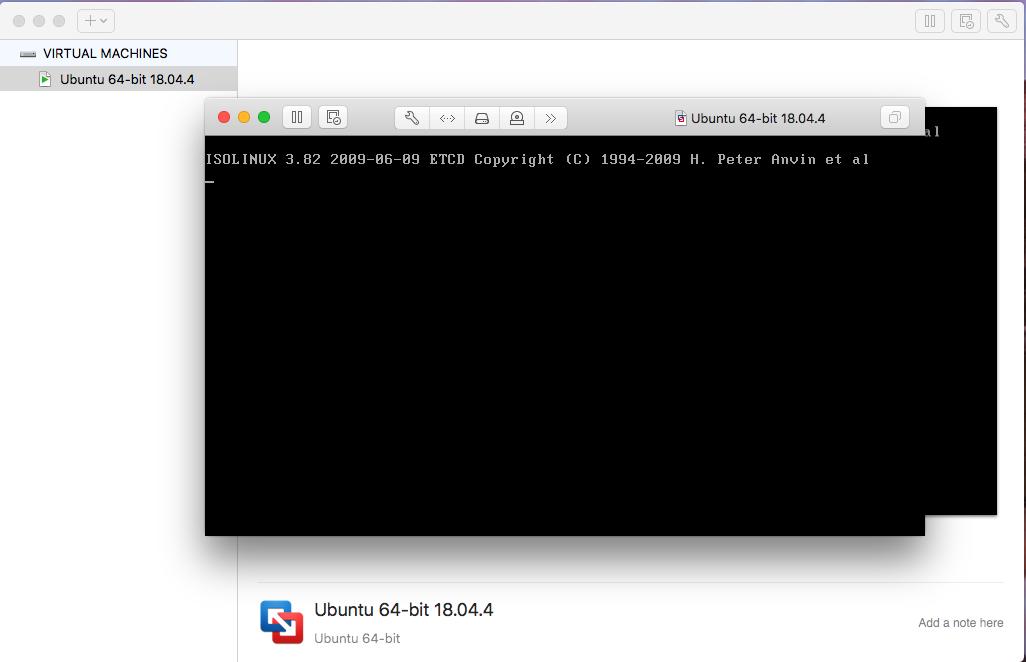 Ubuntu On VMware Fusion - Installation