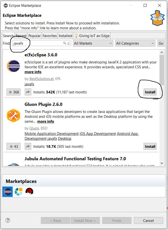JavaFX - e(fx)clipse