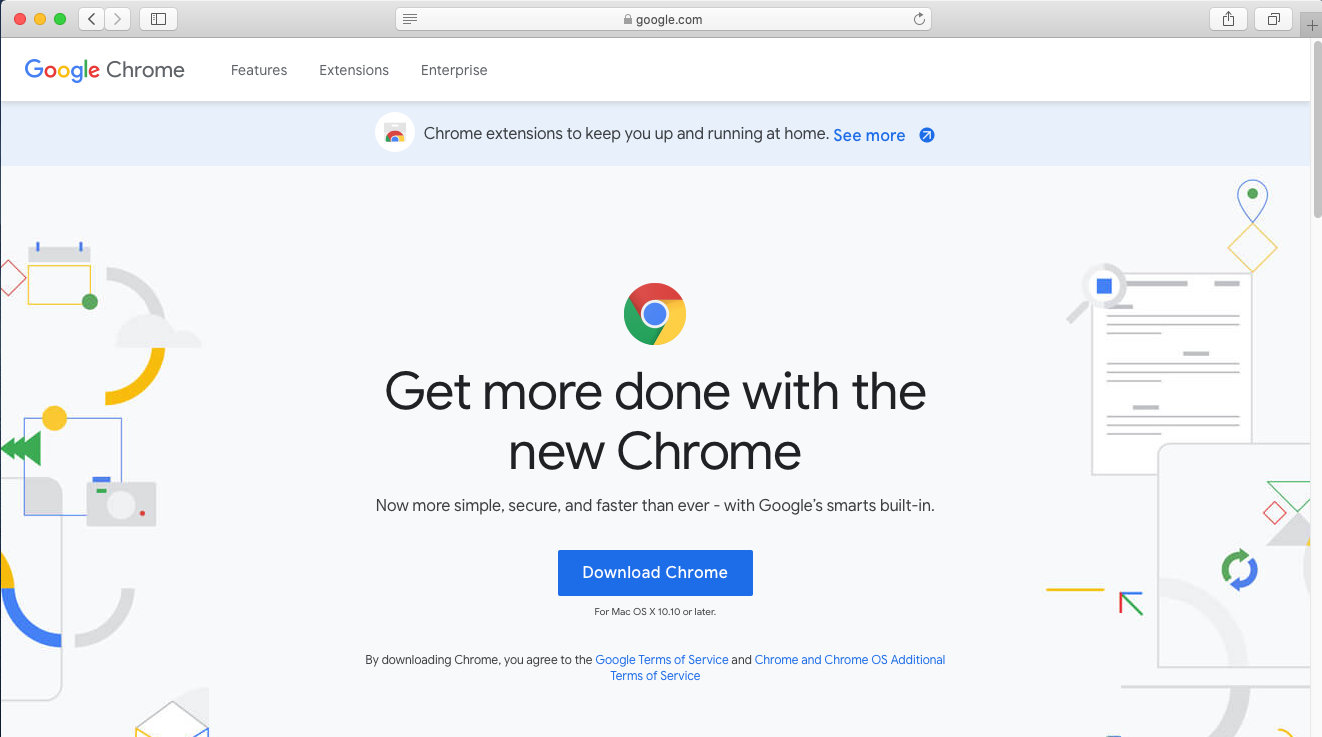 Google Chrome - Mac - Download
