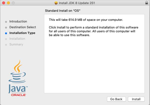 Java 8 - Mac - Install