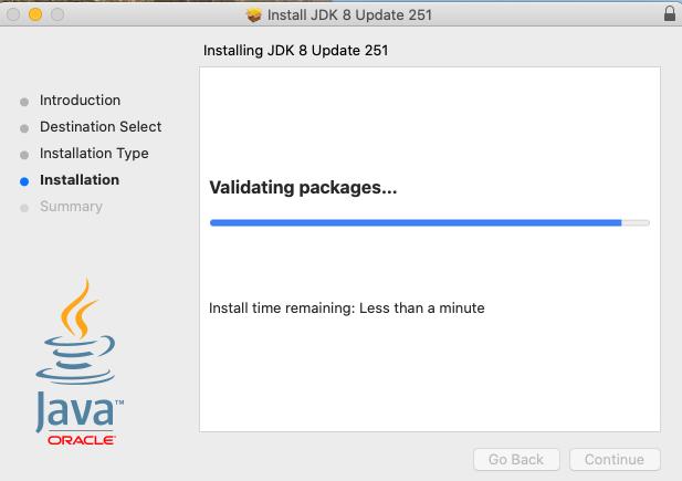 Java 8 - Mac - Check Version