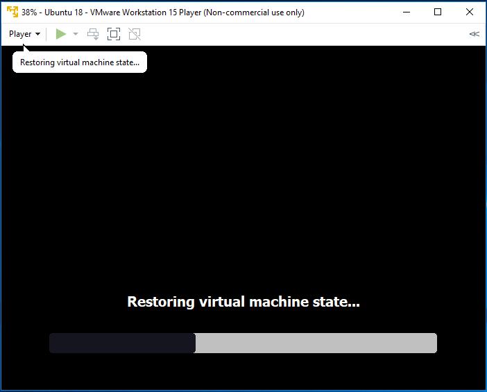 Ubuntu - VMware - Resume