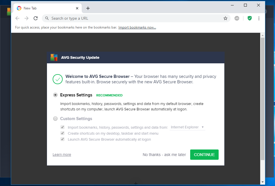 AVG - Browser