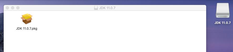 Java 11 - Mac - Installer
