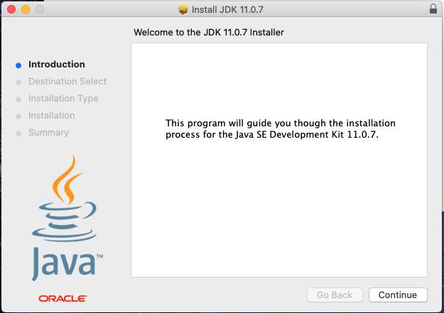 Java 11 - Mac - Welcome