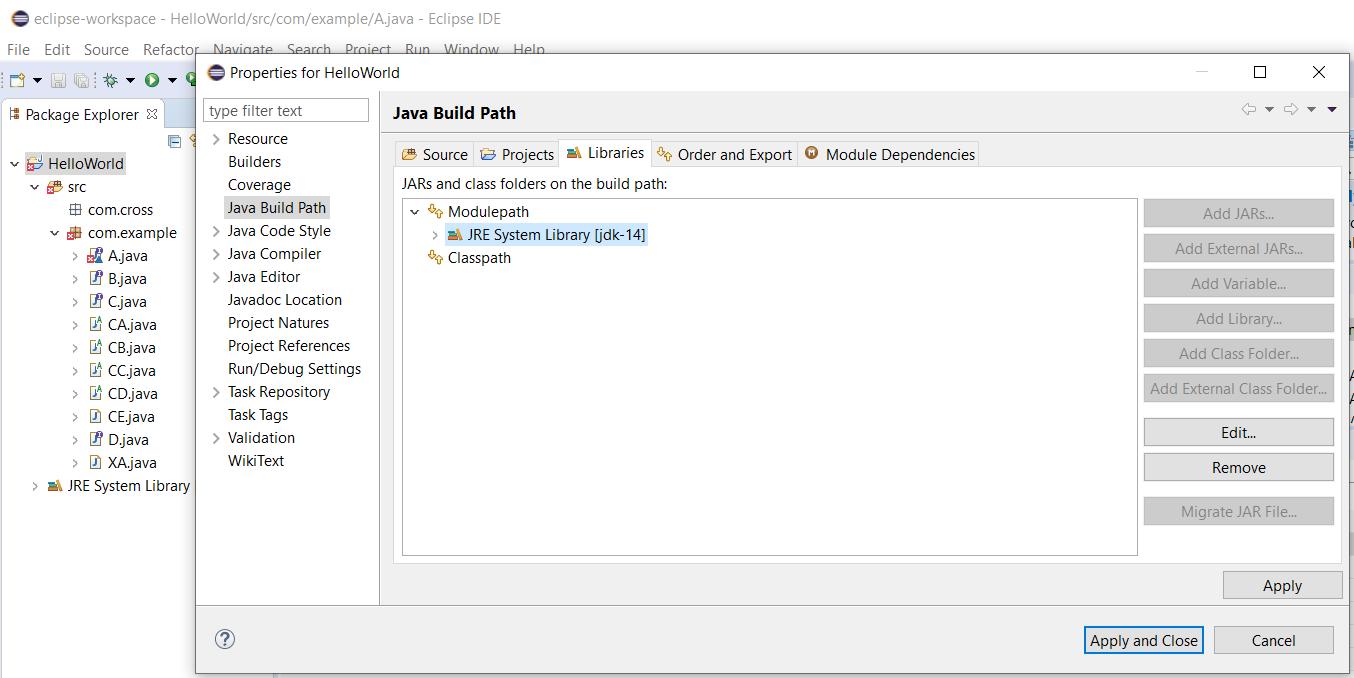 Eclipse - Java Build Path