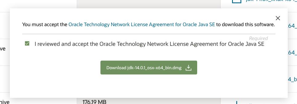Java 14 - Mac - Download