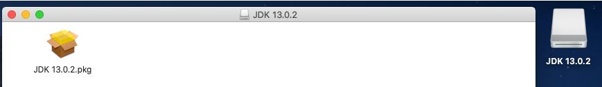 Java 13 - Mac - Installer