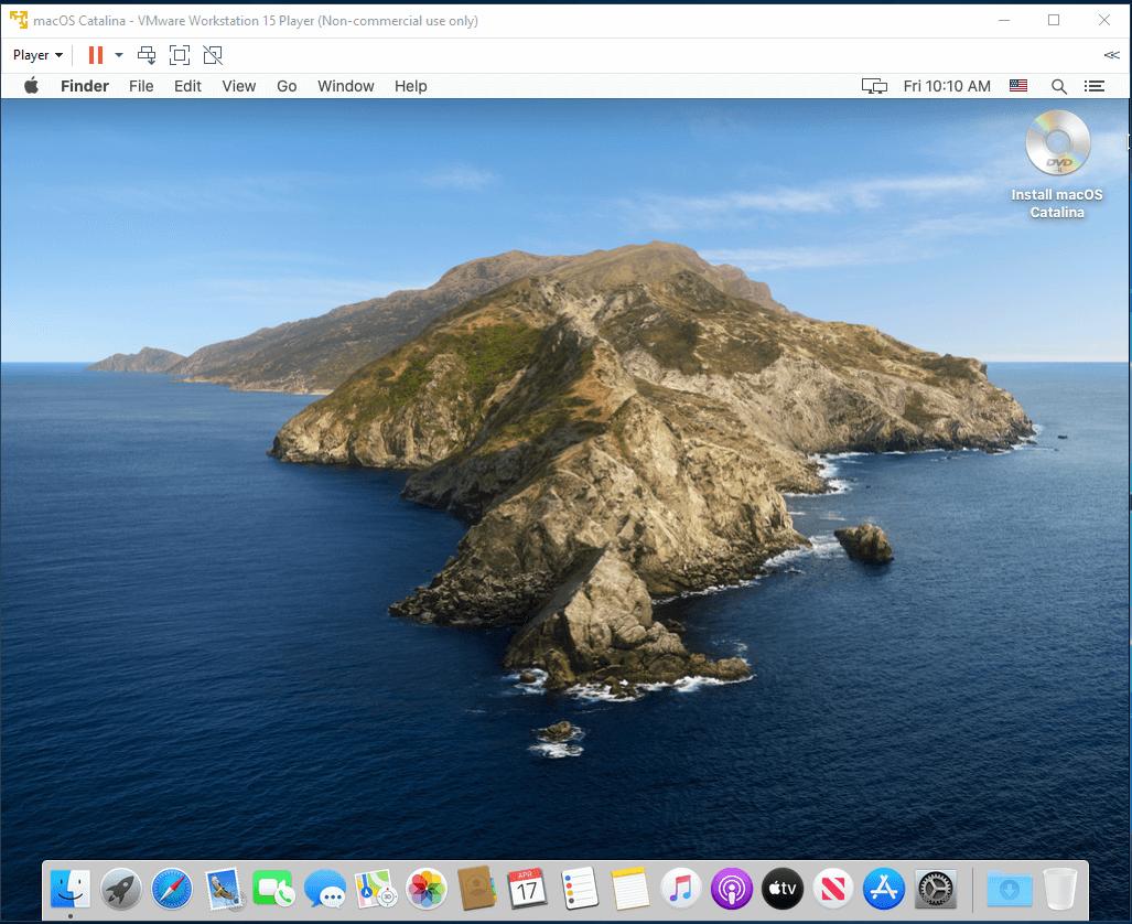 macOS - VMware - Desktop