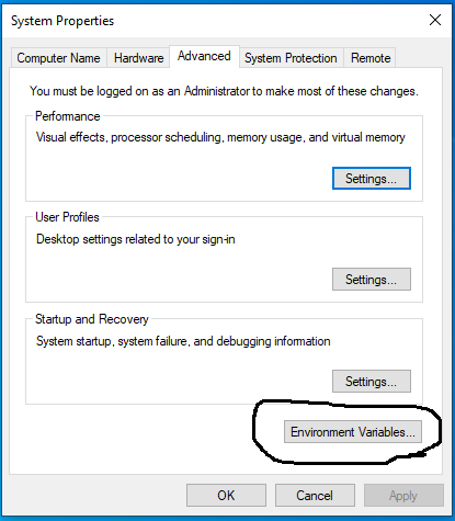 Multiple Java - Windows 10 - Environment Variables