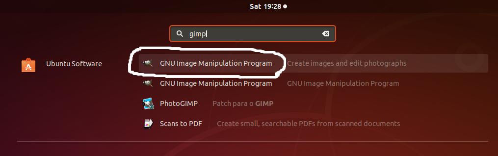 GIMP on Ubuntu - Applications