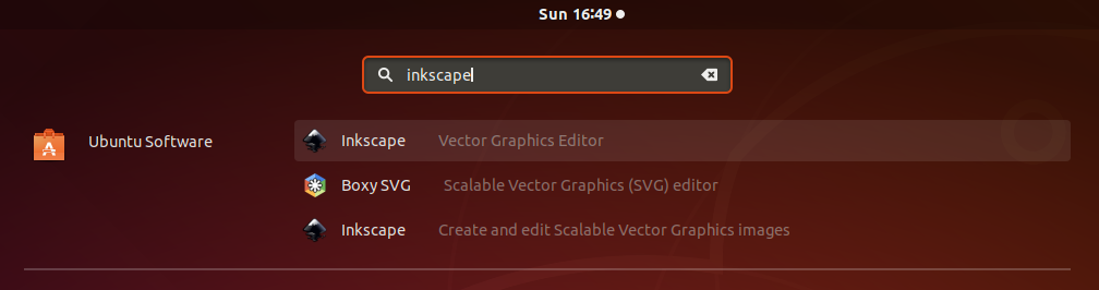 Inkscape On Ubuntu - Applications