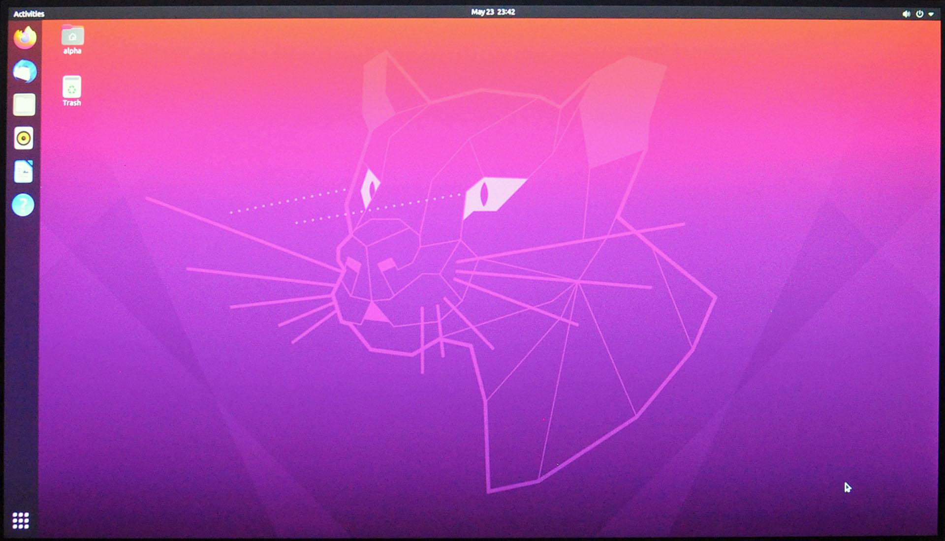 Install Ubuntu 20.04 LTS - Dashboard