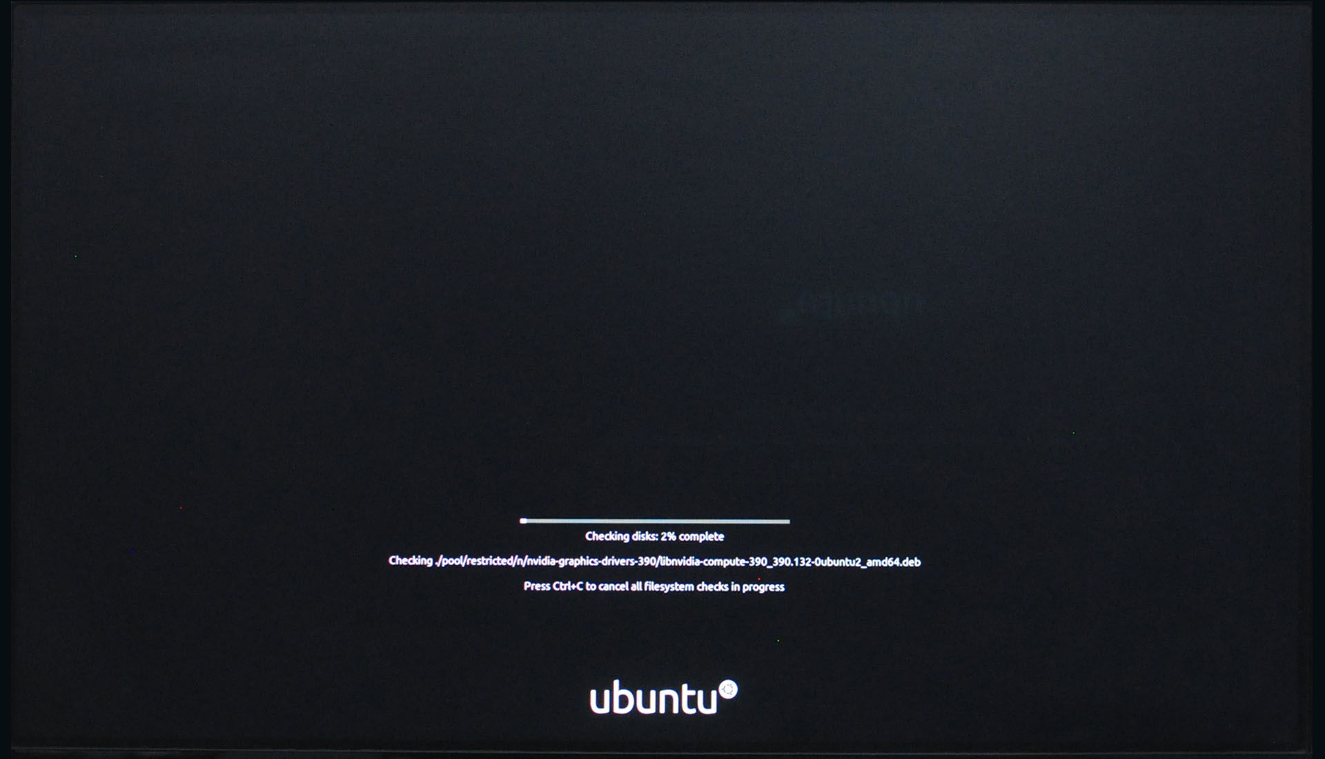Install Ubuntu 20.04 LTS - Disc Checks