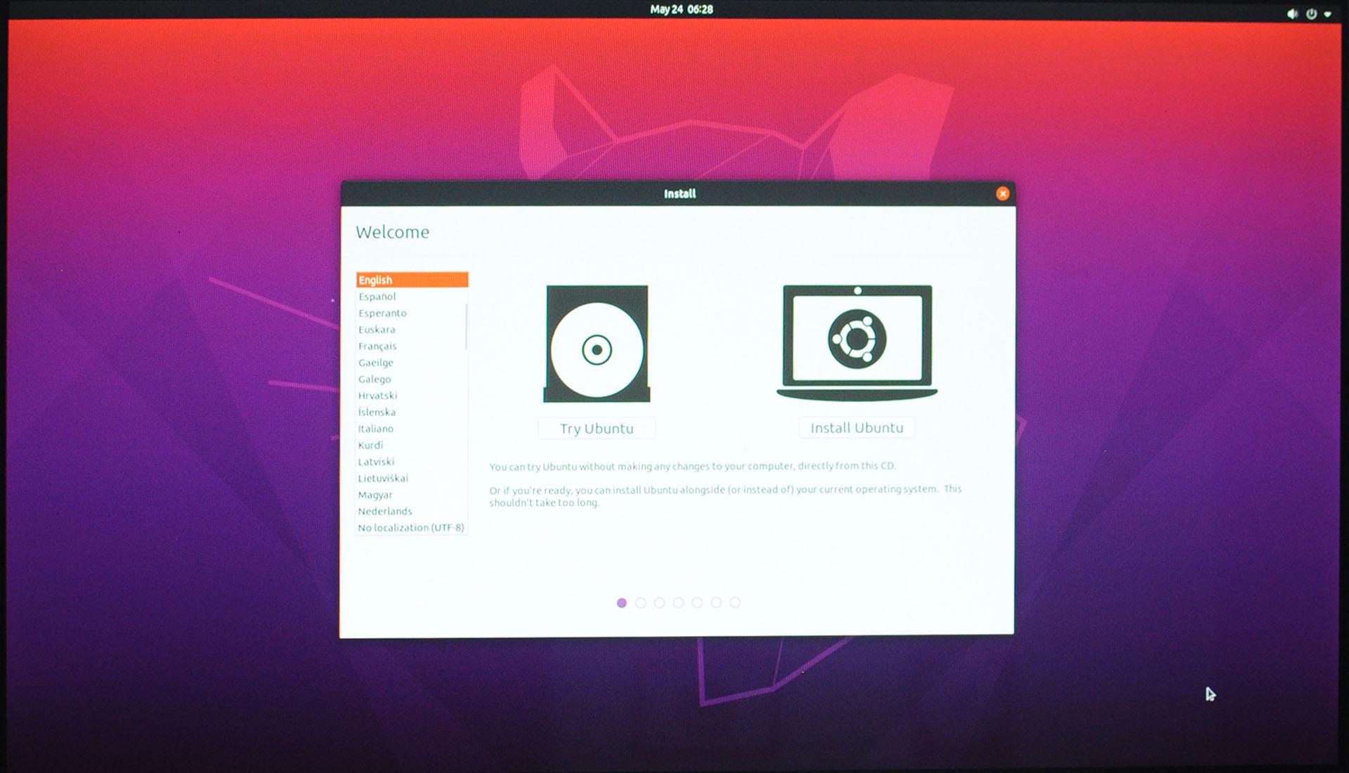 Install Ubuntu 20.04 LTS - Install