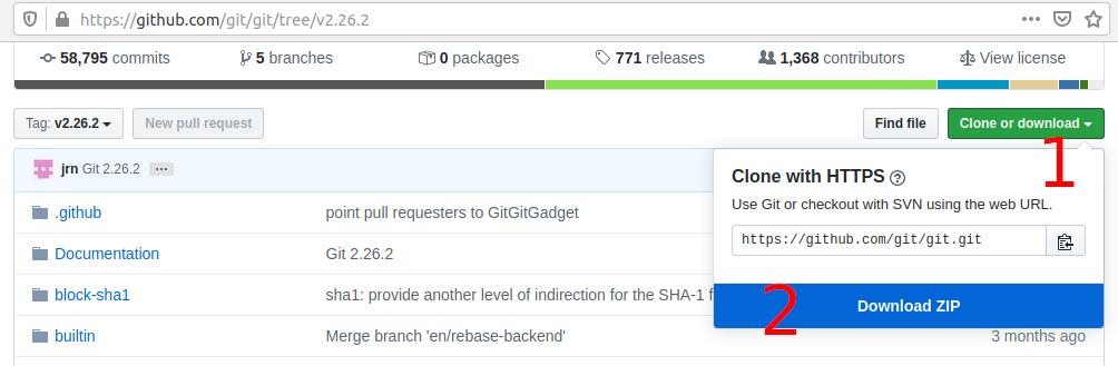 Install Git on Ubuntu 20.04 LTS - Download