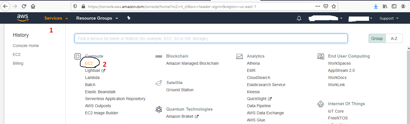 Ubuntu 20.04 LTS On AWS EC2 - AWS Services