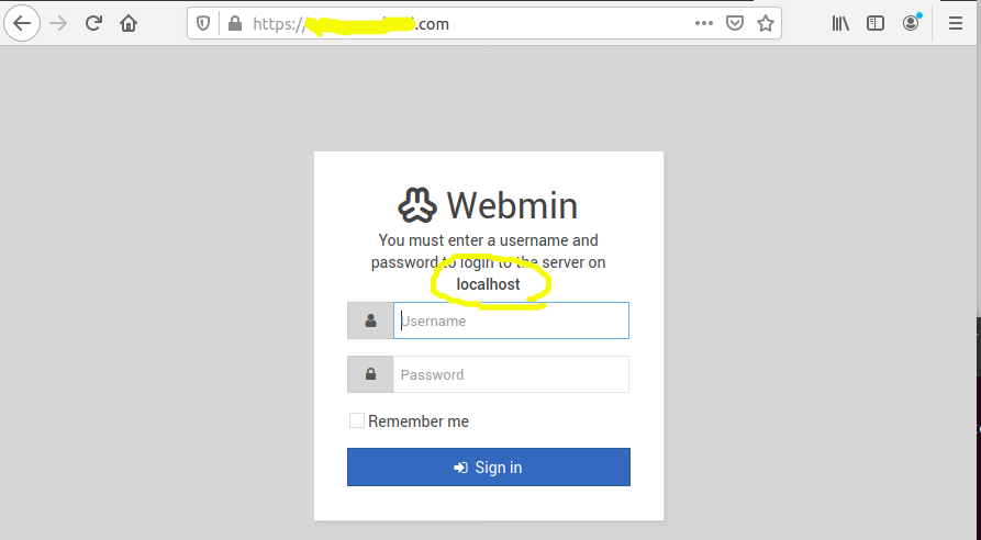Install Webmin With Apache On Ubuntu 20.04 LTS - Localhost
