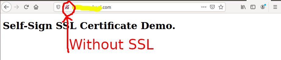 Install Self-Signed SSL Certificate On Ubuntu 20.04 - Apache - Default