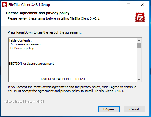 Ubuntu 20.04 LTS on Windows using VMware - License Agreement