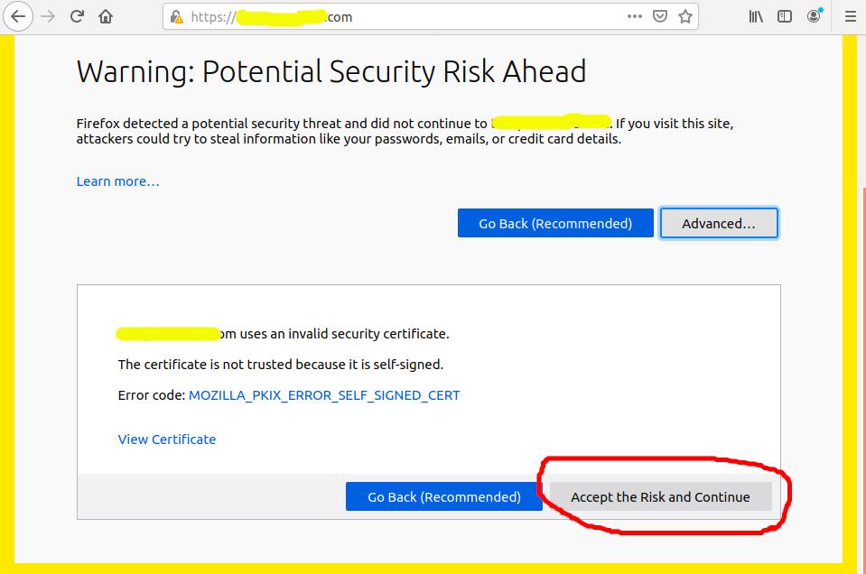 Install Self-Signed SSL Certificate On Ubuntu 20.04 - Apache - Accept
